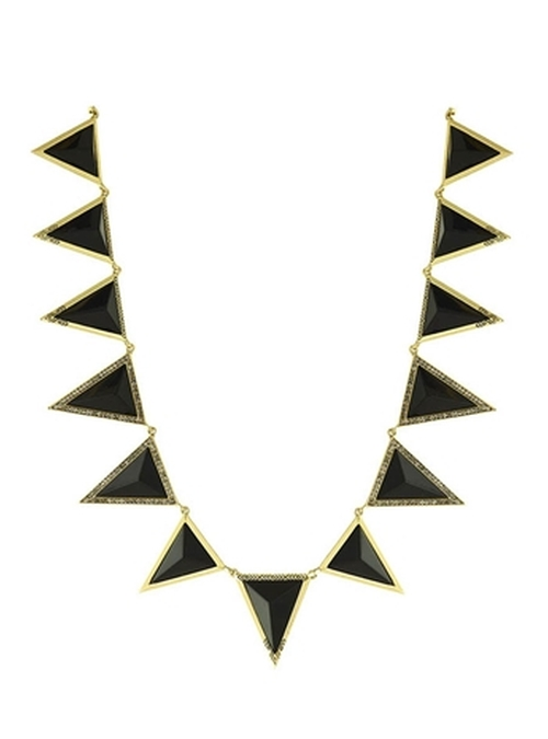 Triangle Theorem Collar Necklace by House Of Harlow 1960 Jewelry in Pretty Little Liars