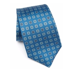 Silk Medallion Tie by Kiton in Ballers