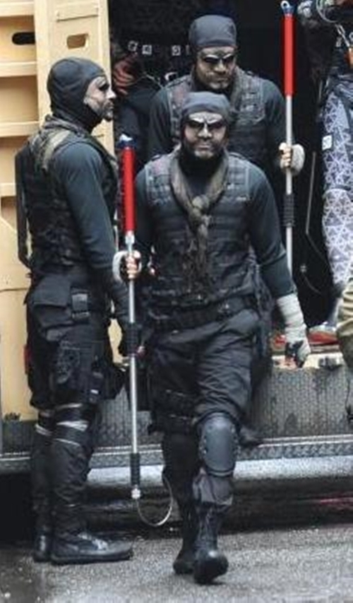Custom Made Foot Soldier Outfit by Sarah Edwards (Costume Designer) in Teenage Mutant Ninja Turtles (2014)
