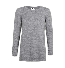 Longline Crew Neck Sweater by Topman in Chelsea