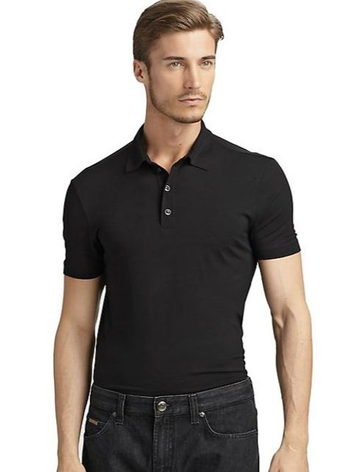 Classic Polo Shirt by Armani Collezioni in The Gunman