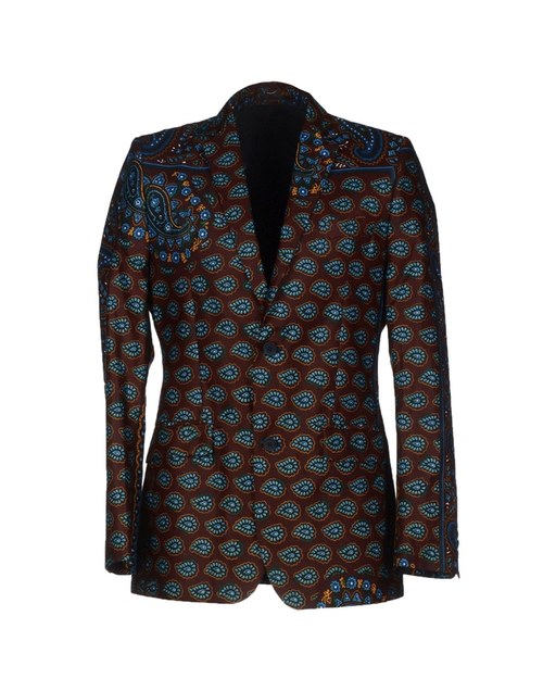 Printed Blazer by Dent De Man in Empire - Season 2 Episode 1