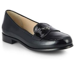 Patent Leather Loafers by Prada in That Awkward Moment