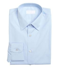 Sky Cotton Point Collar Dress Shirt by Prada in Self/Less
