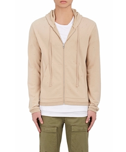 """""""Voir Dire"""" Cotton-Blend Hoodie by Stampd in Empire"""