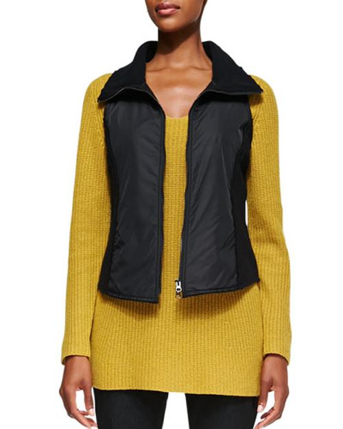 Boiled Wool Parka Vest by Eileen Fisher in The Other Woman