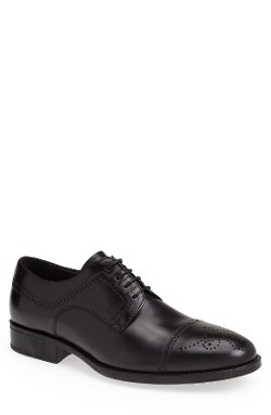 'Ponte' Cap Toe Oxford Shoes by Mezlan in That Awkward Moment