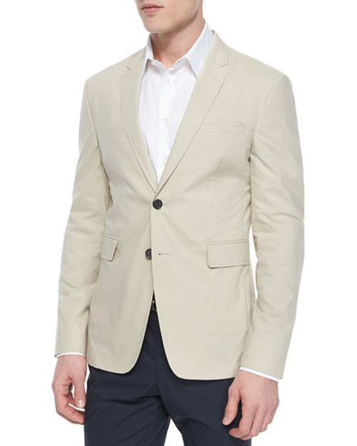 Modern-Fit Cotton Sport Coat by Burberry London in Mr. & Mrs. Smith