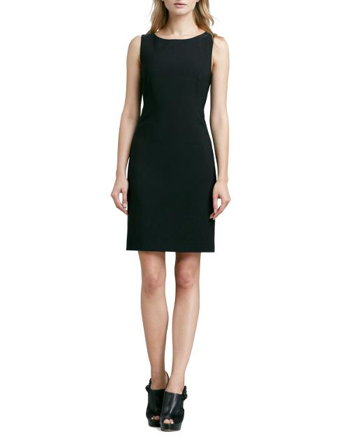 Betty Fitted Sleeveless Dress by Theory in The Giver