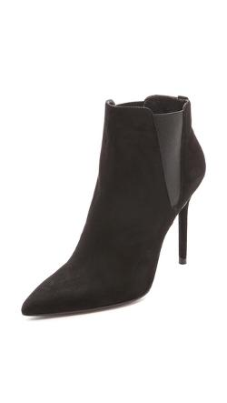 Apogee Pointed Toe Booties by Stuart Weitzman in Lucy
