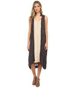 Sheer Trench Sweater Vest by Free People in Fuller House