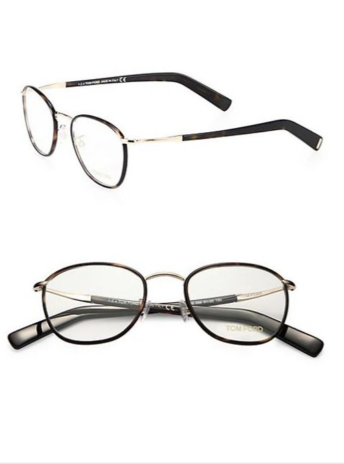Round Optical Frame Eyeglasses by Tom Ford Eyewear in Run All Night
