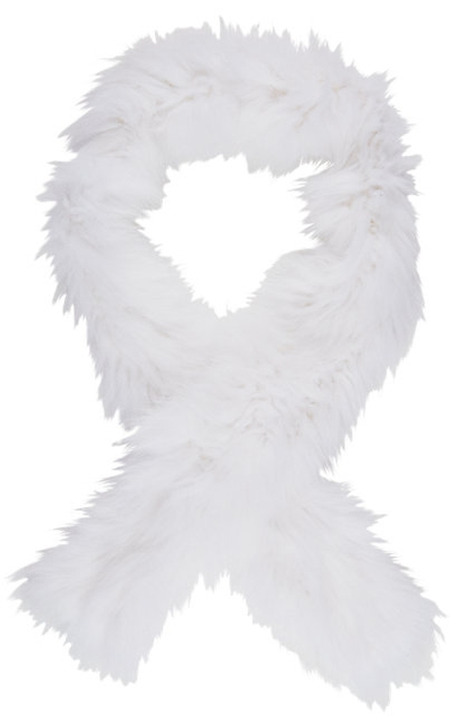 Fur Scarf by Barneys New York in Scream Queens