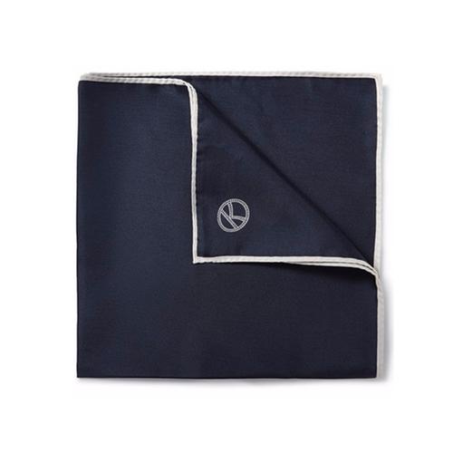 Wool And Silk-Blend Pocket Square by Kingsman + Drake's in Kingsman: The Secret Service