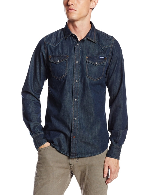 Men's New Sonora Woven Shirt by Diesel in Nashville - Season 4 Episode 7