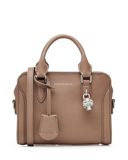 Padlock Leather Shoulder Bag by Alexander McQueen in Suits
