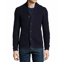 Avery Shawl-Collar Textured Cardigan by Rag & Bone in New Girl