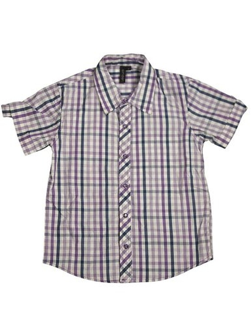 Short Sleeve Plaid Shirt by Smash in Jurassic World