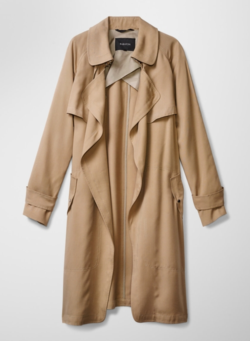Lawson Trench Coat by Babaton in Quantico - Season 1 Episode 8