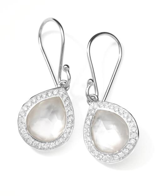 Rock Candy Diamond Doublet Teardrop Earrings by Ippolita in Suits - Season 5 Episode 4
