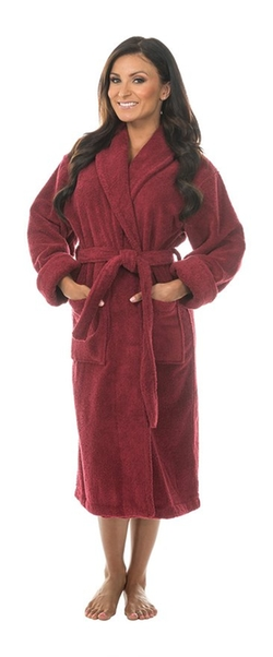 Turkish Terry Bathrobe by Comfy Robes in American Horror Story