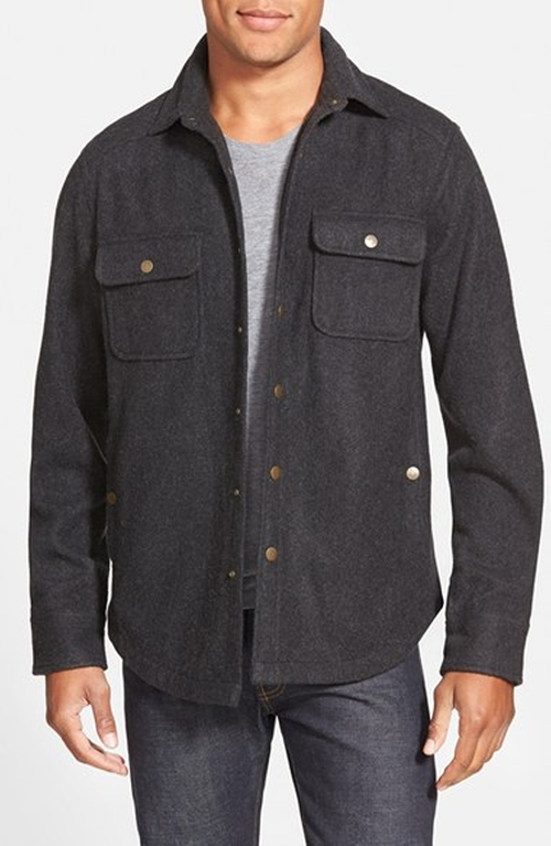 'CPO' Shirt Jacket by Wallin & Bros. in Quantico