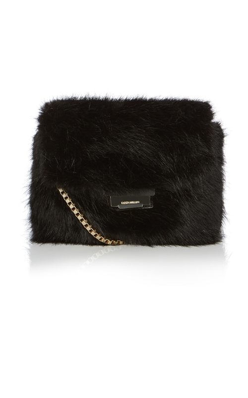 Rockefeller Fur Bag by Karen Millen in Scream Queens - Season 1 Episode 11