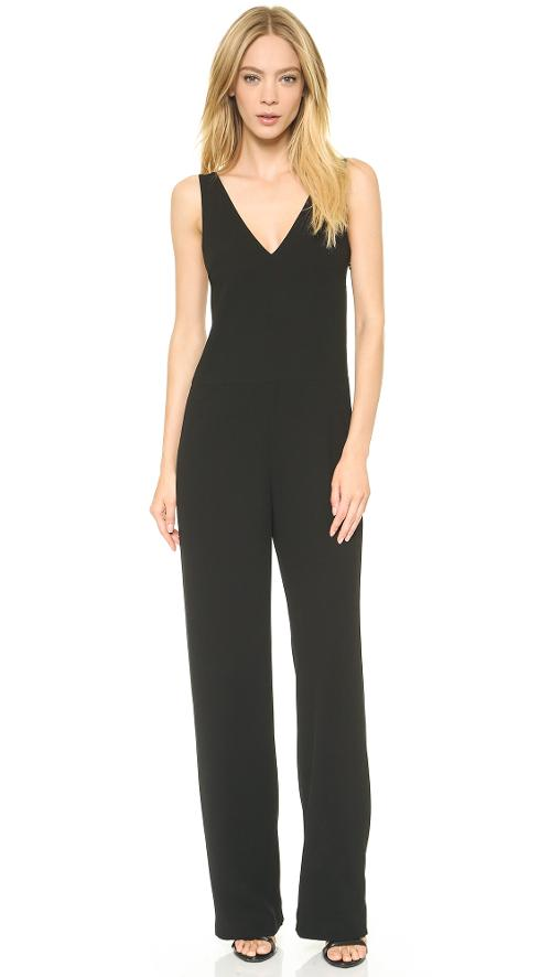 V Neck Strap Romper by T by Alexander Wang in Beyond the Lights