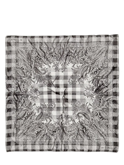 Paisley Printed Silk Satin Pocket Square by ETRO in Suits