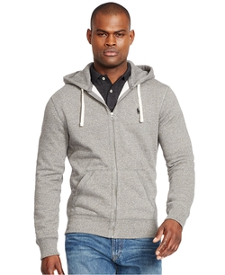 Full-Zip Classic Fleece Hoodie by Polo Ralph Lauren in Master of None