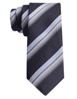 Silk Twill Stripe Tie by John Varvatos U.S.A. in Neighbors