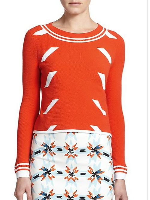Rita Dash Sweater by Tanya Taylor in The Mindy Project - Season 4 Episode 13