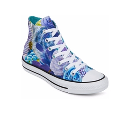Chuck Taylor All Star Hi Top Floral Print Sneakers by Converse in Sisters
