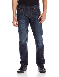 Men's Sequel Aged Denim Pants by Quiksilver in Sinister 2