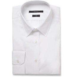 Slim-Fit Cotton-Poplin Shirt by Gucci in Spy
