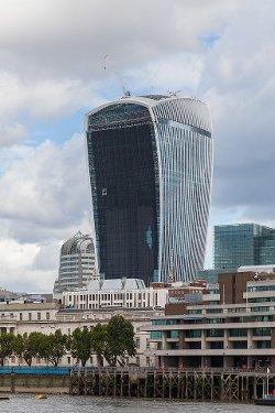 London, United Kingdom by 20 Fenchurch Street Building in The Gunman