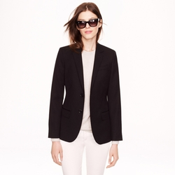 Wool Gabardine Ludlow Blazer by J.Crew in The Good Wife