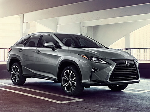 RX 350 SUV by Lexus in Knocked Up