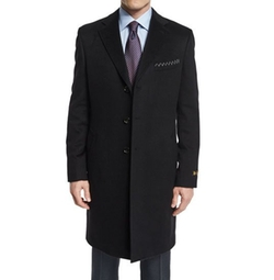 Cashmere Long Car Coat by Neiman Marcus in Billions