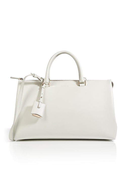 Leather Tote Bag by Jil Sander in Bridesmaids
