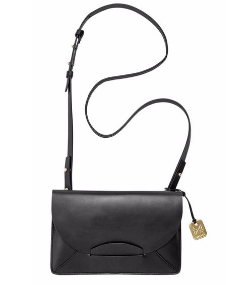 Nilsson Convertible Leather Crossbody Bag by Skagen  in Pretty Little Liars - Season 6 Episode 19