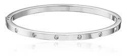 Dainty Dot Bangle Bracelet by Fossil in Pretty Little Liars