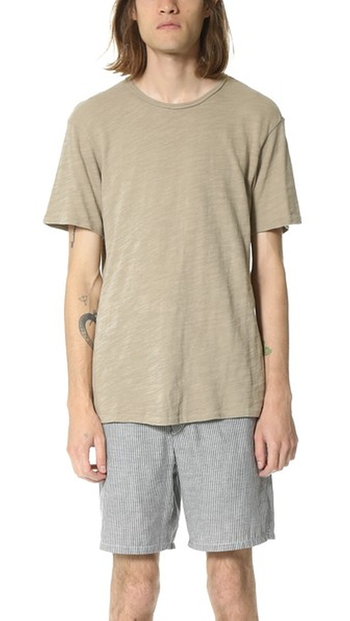 Basic T-Shirt by Rag & Bone Standard Issue in By the Sea
