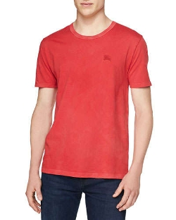 Short-Sleeve Crewneck Slub Tee Shirt by Burberry Brit in Fantastic Four