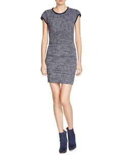 Rought Tweed Dress by Maje in New Girl