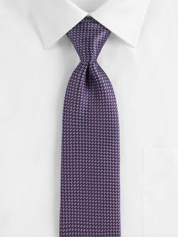 Purple Circle Neat Silk Tie by Ermenegildo Zegna in Empire