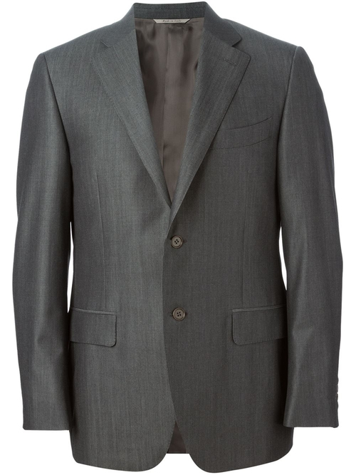 Two Piece Suit by Canali in Our Brand Is Crisis