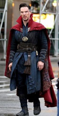 Custom Made Doctor Strange Costume by Alexandra Byrne (Costume Designer) in Doctor Strange