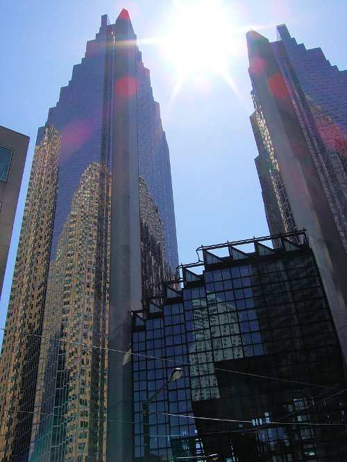 Royal Bank Plaza Toronto, Canada in Kick-Ass