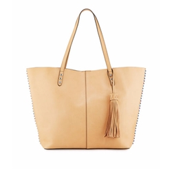 Medium Climbing Rope Unlined Tote Bag by Rebecca Minkoff in Billions